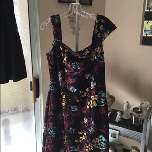Embroidered Nicole Miller Dress